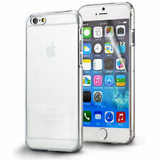 FUNDA + PUNTERO IPHONE 6 4.7 CARCASA RIGIDA TRANSPARENTE DURA ULTRAFINA SLIM