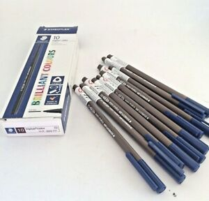 Staedtler Brown Fibre Tip Pens 323 Triplus Colour - 1.0mm - Pack Of Ten