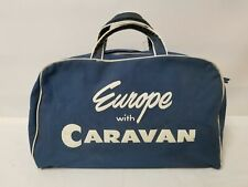 Vintage Europe Caravan Travel Bag