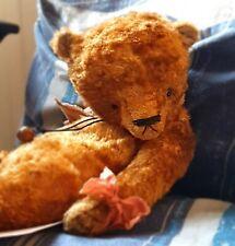 OOAK Original Handmade Collectors Artist Little Augustus Teddy Bear 1/1 BNWT