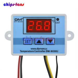 AC 110-220V Digital LED Temperature Controller Microcomputer Thermostat+Probe