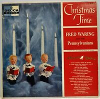 """""""Christmas Time"""" Fred Waring & The Pennsylvanians LP Decca DL 8172"""