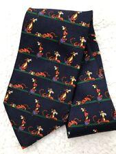DISNEY Winnie The Pooh Tie Tiger Men Tie Sz Regular