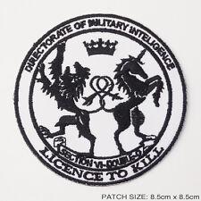 """JAMES BOND """"MI6 'DOUBLE-0' AGENT"""" Service Patch...NEW"""