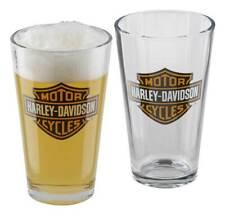 HARLEY-DAVIDSON® CORE BAR & SHEILD PINT GLASS SET HDX-98706