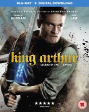 King Arthur - Legend of the Sword Blu-ray (2017) Charlie Hunnam ***NEW***