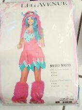 Leg Avenue Mischief Monster Costume, Junior Size S/M 10/12 Halloween Dress & Hat