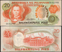 Philippines 20 Piso. NEUF ND (1973) Billet de banque Cat# P.155a