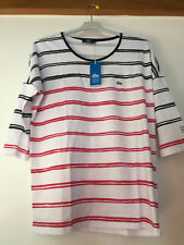 TBS Tee shirt Axutee rayures blanc et rouge taille 44 NEUF