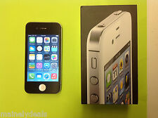 Apple iphone 4 8GB Black ME640LL/A TFW Smartphone AS IS New Screen