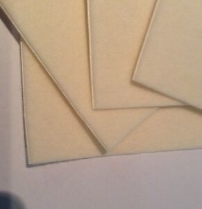 Cuxson Gerrard Hapla Gold Semi-Compressed Felt Hypoallergenic Adhesive System