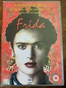 Frida DVD 2002 Artist Kahlo Biopic Drama Movie with Salma Hayek