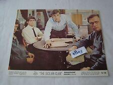 1969 THE SICILIAN CLAN Alain Delon Movie Lobby Card Press Photo 8 x 10 H