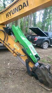 Hydraulic digger excavator log , scrap, grapple grab thumb suit 10t - 14 ton