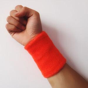 Children Adult Wristbands Sweatband Candy Color Towel Wristband Unisex Women Men