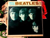 MEET THE BEATLES 1964 MONO VINYL LP  2 ASCAP O OF P  NO GEORGE MARTIN CREDIT