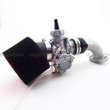 Carb Mikuni 28mm Carburetor Manifold Intake Pipe Gasket Air Filter Pit Dirt Bike