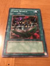 YU-GI-OH TOON WORLD CARD HOLO  #MRT-076 CARD MINT YUGIOH SUPER RARE COLLECTION