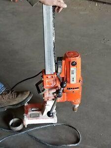 Diamond Products M1AA-15 core drill rig w/stand, bit