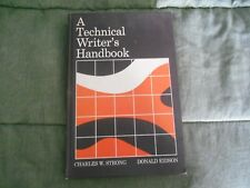 A Technical Writer's Handbook by Donald R. Eidson; Charles William Strong