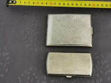 Kraftalpacca 2 Cases Cigarette Silver Metal Towards 1920