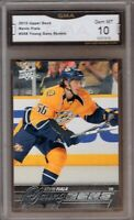 GMA 10 Gem Mint KEVIN FIALA 2015/16 UD Upper Deck YOUNG GUNS ROOKIE Card!