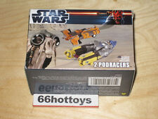 Star Wars Toys R Us Exclusive 2 Motorized Pod Racers Anakin Skywalker & Sebu NEW