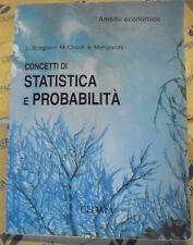 CONCETTI DI STATISTICA E PROBABILITA' - AMBITO ECONOMICO - L.SCAGLIANTI - CEDAM