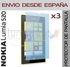 3x protection ECRAN pour NOKIA LUMIA 520 en ESPAGNE