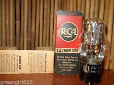 VINTAGE RCA 5V4 G  STEREO TUBE RESULTS = 67/64  #48290