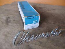 "NEW GM 1967 Camaro ""Chevrolet"" Header or Trunk Emblem GM NOS  3910000"