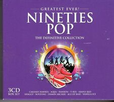 (FD454A) Greatest Ever! Nineties Pop, 58 tracks various artists - 3 CDs - 2013