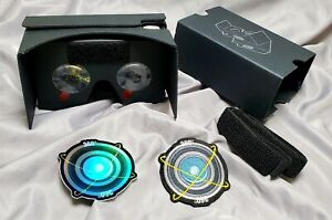 360Production.Services Google Cardboard VR Virtual Reality Viewer +sticker+patch