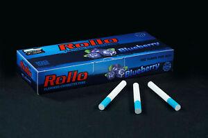 500 NEW BLUEBERRY FLAVORED ROLLO TUBE Ciggarette Tobbacco Filter