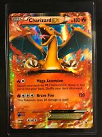 Pokemon Charizard EX XY17 JUMBO Holo NM/M Oversized Promo Card with Toploader