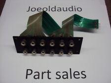 Sansui 8080DB/9090DB RCA Jack Panel Phono 1 & 2, PREAMP. Part Out 8080DB/9090DB