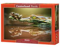 Castorland B-52318 - The Daredevil Frog, Puzzle 500 Teile - Neu