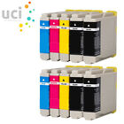 2x Brother LC1000 Bk Black Ink Cartridges Genuine and