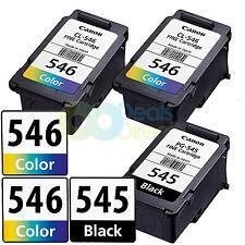 3x Canon PG-545 CL-546 Inks for Pixma MG2450 MG2550 MG2950 MG3050 MG3051