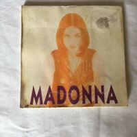 """RARE Madonna – Oh Father Japanese 3"""" CD Single (1989) with some cover damage"""