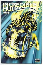 "INCREDIBLE HULKS #618 | Mark Brooks 1:15 Ghost Rider ""Tron"" Variant 