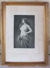 photogravure héliogravure femme nue Braun Clément & Cie n° 4900 d'après Asti