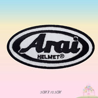 Arai Helmet Logo Embroidered Iron On Patch Sew On Badge Applique