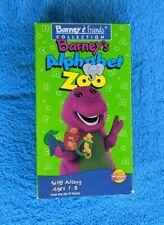 BARNEY'S ALPHABET ZOO VHS Tape 1994 Children's