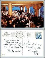 CALIFORNIA Postcard - San Francisco, Fairmont Hotel, Fairmont Crown Cocktail S2