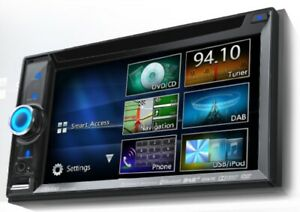 CLARION NX505E 2-DIN DAB+ Navigation CD/DVD Multimedia Sprachste. UVP war 898,00