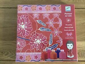 DJECO Silk Scarf Painting Kit