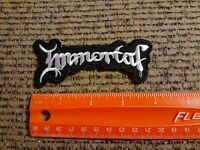 Immortal Rock Band Sew or Iron on Patch NEW