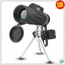 JoyGeek 10X42 Handheld Monocular Telescope with Tripod Low Night Vision Prism HD