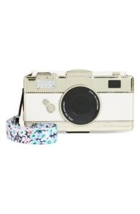 Kate Spade NY 256649 Camera iPhone X/XS leather folio case with daisy strap